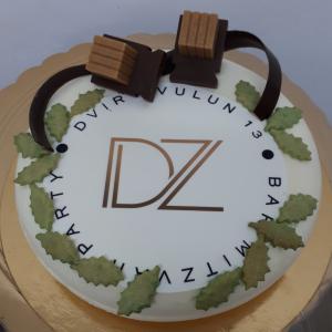 עוגה ממותגת